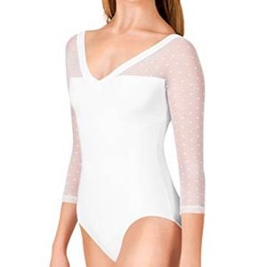 Natalie Dancewear Other - White Leotard